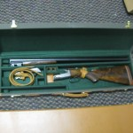 12g Parker DHE double barrel shotgun at Nadeau's Auction