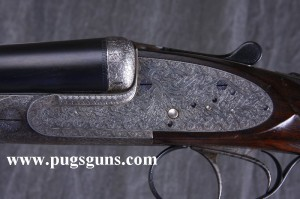 12 gauge Ernest Wilmart double barrel sidelock ejector shotgun