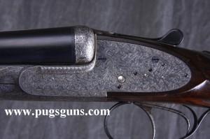 12 gauge Ernest Wilmart double barrel sidelock ejector shotgun