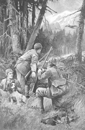 Black Grouse hunting