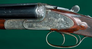 12 gauge Heym Double Barrel Shotgun at Hallowell Co.