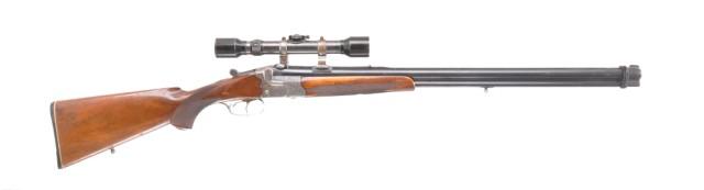 Carl Funk O/U Combo Rifle, 12 Ga. / 7 X 57R