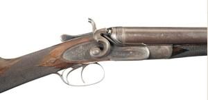 W.W. Greener Hammer Double Barrel Shotgun