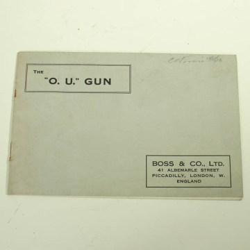 Boss O/U shotgun catalog