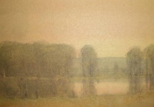 Russell Chatham - Spring Pond