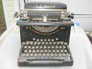 L.C. Smith Premier Typewriter