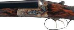 20 gauge Westley Richards double barrel shotgun