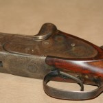16 gauge F.W. Heym over/under shotgun