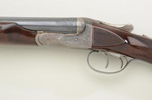 A.H. Fox 20 gauge CE grade double barrel shotgun