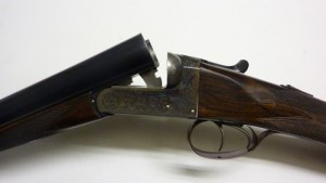 "Alexander Martin 2"" 12 gauge double barrel shotgun"