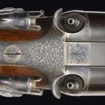 Fences on another Purdey percussion rifle