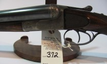 12 gauge Francotte Grade 14 double barrel shotgun