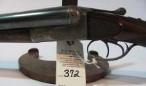 12 gauge Francotte Grade 14 double barrel shotgun