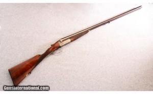 12 gauge Frederick Williams Boxlock Double Barrel Shotgun