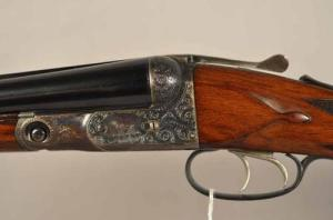 16 gauge Parker DHE double barrel shotgun