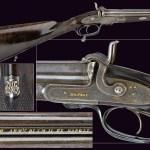 Stunning Italian pinfire shotgun by Izzo