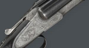 12 gauge L.C. Smith Monogram Grade Double Barrel Shotgun