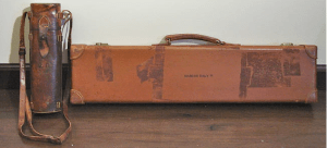 Leather Abercrombie & Fitch Shotgun case