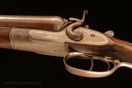12 gauge Stephen Grant side-by-side hammergun