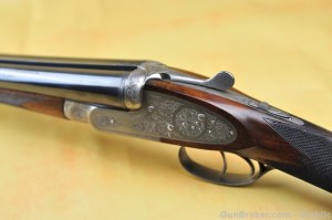 12 gauge Browning Sidelock Side-by-Side Shotgun