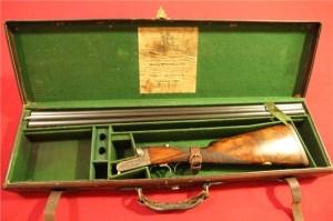 12 gauge Westley Richards Droplock Double Barrel Shotgun