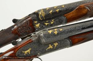 "GRIFFIN & HOWE BEST PAIR 2"" game guns 12 gauge"