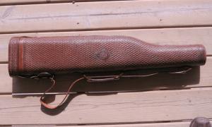 H.H. Heiser Leg O'Mutton Double Barrel Shotgun Case