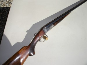 A.H. Fox AE Grade Double Barrel Shotgun