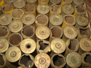 100 Winchester 14 gauge paper shotgun shells