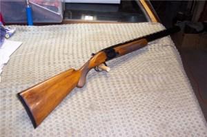 20 gauge Browning Superposed Round Knob, Long Tang Over-Under Shotgun