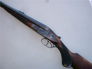 W.W. Greener Side-by-Side Double Rifle, .400/.360