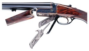 Westley Richards Boxlock with Detachable Locks (Droplocks)
