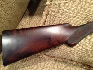 A.H. Fox, 20 gauge, A grade, Double Barrel, Side by Side Shotgun