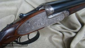 Pedro Arrizabalaga 20 ga. double barrels side-by-side shotgun