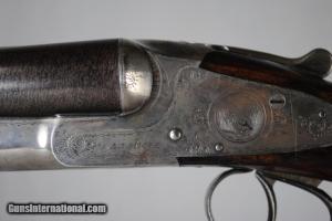 12 gauge L.C. Smith Grade 2 Double Barrel Side-by-Side shotgun
