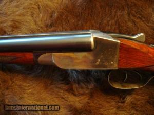 Ithaca SXS, double barrel shotgun in 28 gauge