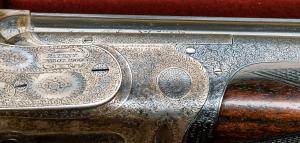28 gauge Boss & Co. Over-Under Double Barrel Shotgun #6838