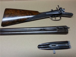 12 gauge Charles Ingram Double Barrel Hammergun