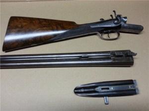 12 gauge Charles Ingram Double Barrel Hammergun