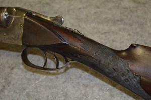12 gauge Baltimore Arms C-grade double barrel shotgun