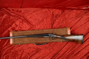 12 gauge Arrieta 871 Double Barrel Side-by-Side Shotgun