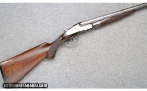 "16 gauge Syracuse Lefever Double Barrel Shotgun, 28"" Damascus bbls"