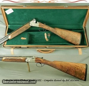 "BERETTA 1964 ASEL 20- THE PROPER SIZE 20 GAME GUN- NEAR EXHIBITION WOOD by BILL McGUIRE- 27 1/2"" BOEHLER ANTINIT Bbls"