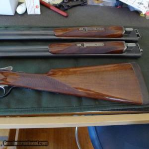 Fox AE 16 Gauge Two barrel set with Single Selective Trigger,