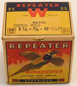 Winchester, PHEASANT BOX, REPEATER, 28 GAUGE