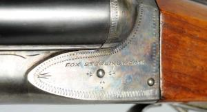 16 gauge Fox Sterlingworth Double Barrel Shotgun