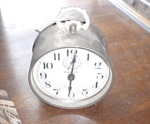 ORIGINAL PARKER GUN CLOCK INTERMITTENT , click for listing