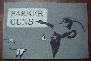 PARKER GUN ORIGINAL 1930 SALES CATALOG. click for listing