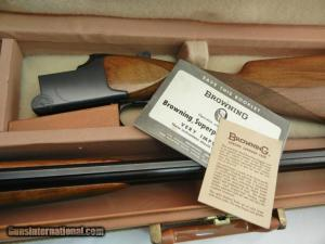 1969 Browning Superposed Superlight Solid Rib