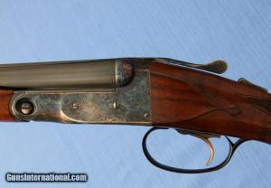 """Parker Reproduction - DHE - 28ga 26"""" IC / M - - Beavertail Forearm - - As New - Cased:"""